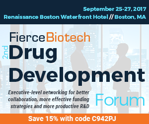 FierceBiotech 2nd annual Drug Development Forum