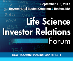 Life Science Investor Relations Forum