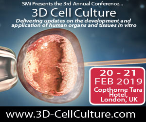 3D Cell Culture SMi Banner 2019